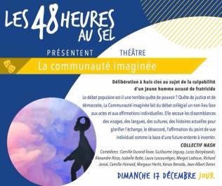 Le collectif Nash joue au Sel de Sèvres le dimanche 17 décembre, à 20h30 !